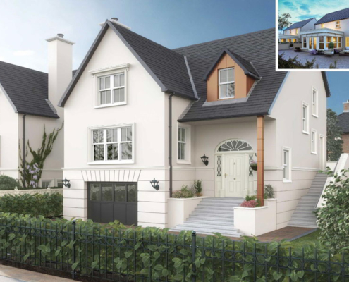 detached house by Taggart homes destination derry